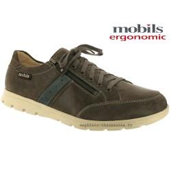 mephisto-chaussures.fr livre à Paris Lyon Marseille Mobils KRISTOF Gris cuir lacets