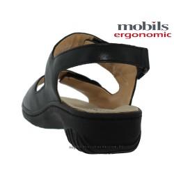 GETHA Noir cuir :42 (fr) Sandale
