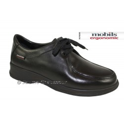 Mephisto lacet femme Chez www.mephisto-chaussures.fr Mobils LALLY Noir cuir lacets