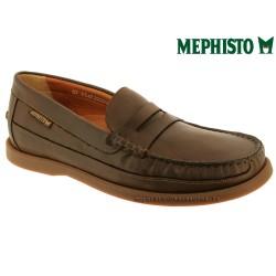 mephisto-chaussures.fr livre à Gravelines Mephisto GALION Marron cuir mocassin
