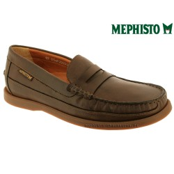 Mode mephisto Mephisto GALION Marron cuir mocassin
