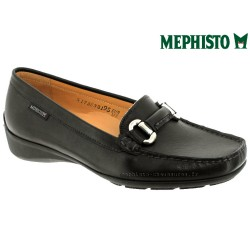 Boutique Mephisto Mephisto NATALA Noir cuir lisse mocassin