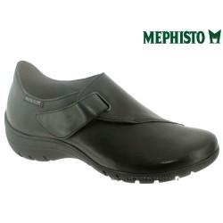 mephisto-chaussures.fr livre à Gravelines Mephisto LUCE Noir cuir mocassin