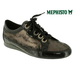 femme mephisto Chez www.mephisto-chaussures.fr Mephisto BRETTA Noir verni lacets