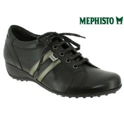 femme mephisto Chez www.mephisto-chaussures.fr Mephisto LUISA Noir cuir lacets