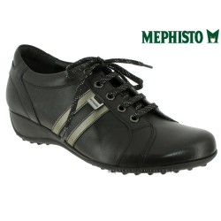 Mephisto lacet femme Chez www.mephisto-chaussures.fr Mephisto LUISA Noir cuir lacets