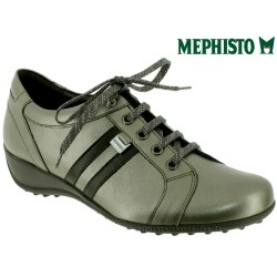 Mephisto lacet femme Chez www.mephisto-chaussures.fr Mephisto LUISA Gris cuir lacets