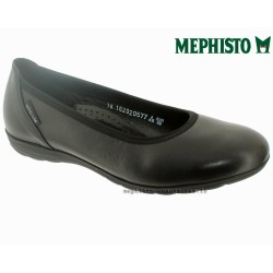 mephisto-chaussures.fr livre à Gaillard Mephisto EMILIE Noir cuir ballerine