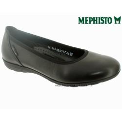 mephisto-chaussures.fr livre à Gravelines Mephisto EMILIE Noir cuir ballerine