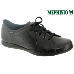 Mephisto femme Chez www.mephisto-chaussures.fr Mephisto Cosima Noir cuir lacets