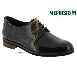 mephisto-chaussures.fr livre à Besançon Mephisto Poppy Gris verni lacets