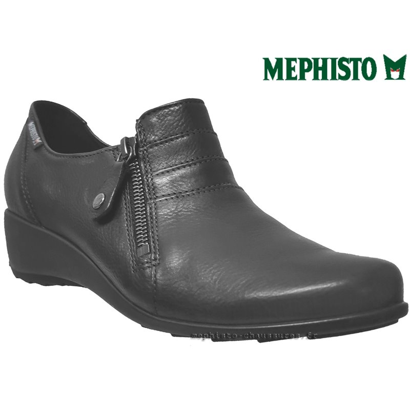 achat mephisto, Severine, Noir cuir chez www.mephisto-chaussures.fr (38627)