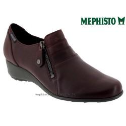 mephisto-chaussures.fr livre à Paris Lyon Marseille Mephisto Severine Bordeaux cuir mocassin