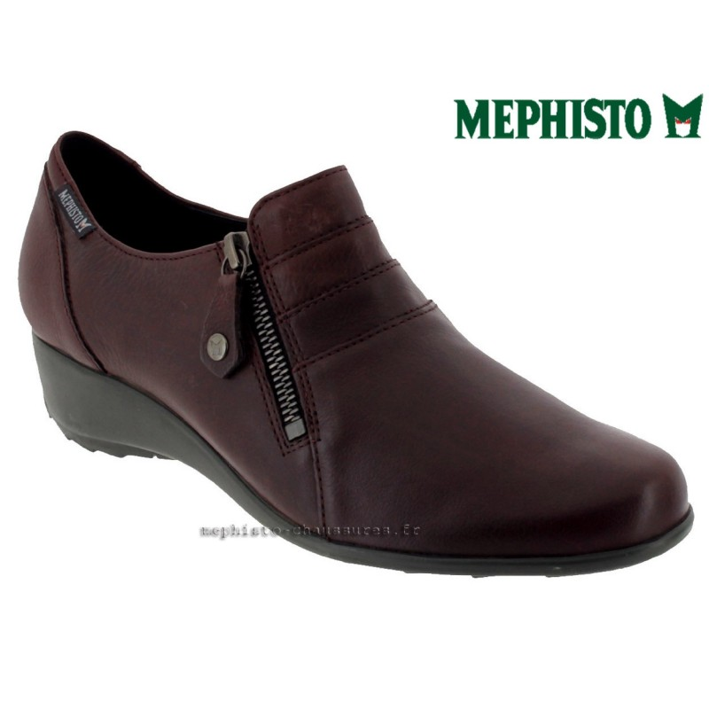 achat mephisto, Severine, Bordeaux cuir chez www.mephisto-chaussures.fr (38636)