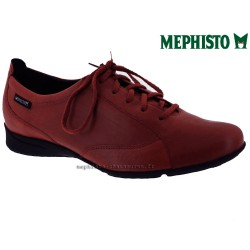 Mephisto Chaussure Mephisto Valentina Rouge cuir lacets