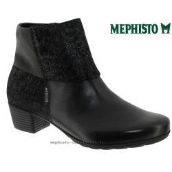 mephisto-chaussures.fr livre à Paris Lyon Marseille Mephisto Iris Noir cuir bottine