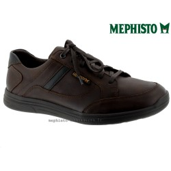 Mephisto Chaussure Mephisto Frank Marron cuir lacets