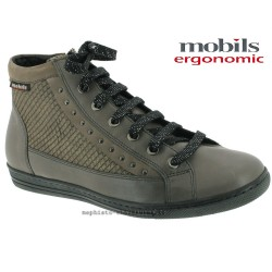 mephisto-chaussures.fr livre à Fonsorbes Mobils Huguette Gris cuir bottillon
