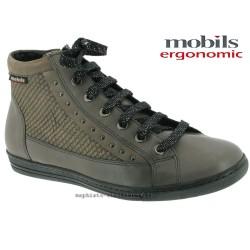mephisto-chaussures.fr livre à Paris Mobils Huguette Gris cuir bottillon