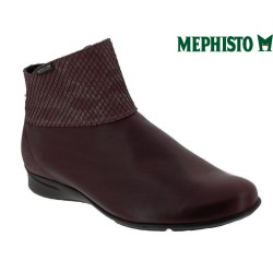 Mode mephisto Mephisto Vincenta Bordeaux cuir bottine