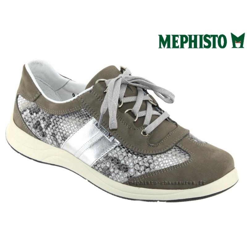 Mephisto LASER Gris nubuck lacets