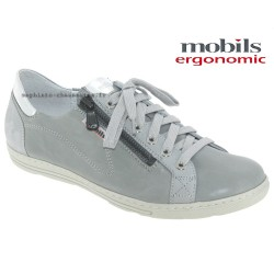 Mephisto Chaussures Mobils HAWAI Gris cuir lacets