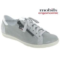mephisto-chaussures.fr livre à Paris Mobils HAWAI Gris cuir lacets