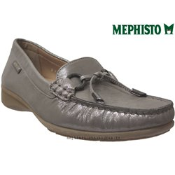 mephisto-chaussures.fr livre à Besançon Mephisto NAOMI Camel nubuck brillant mocassin