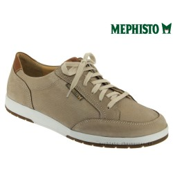 mephisto-chaussures.fr livre à Cahors Mephisto LUDO Beige nubuck lacets