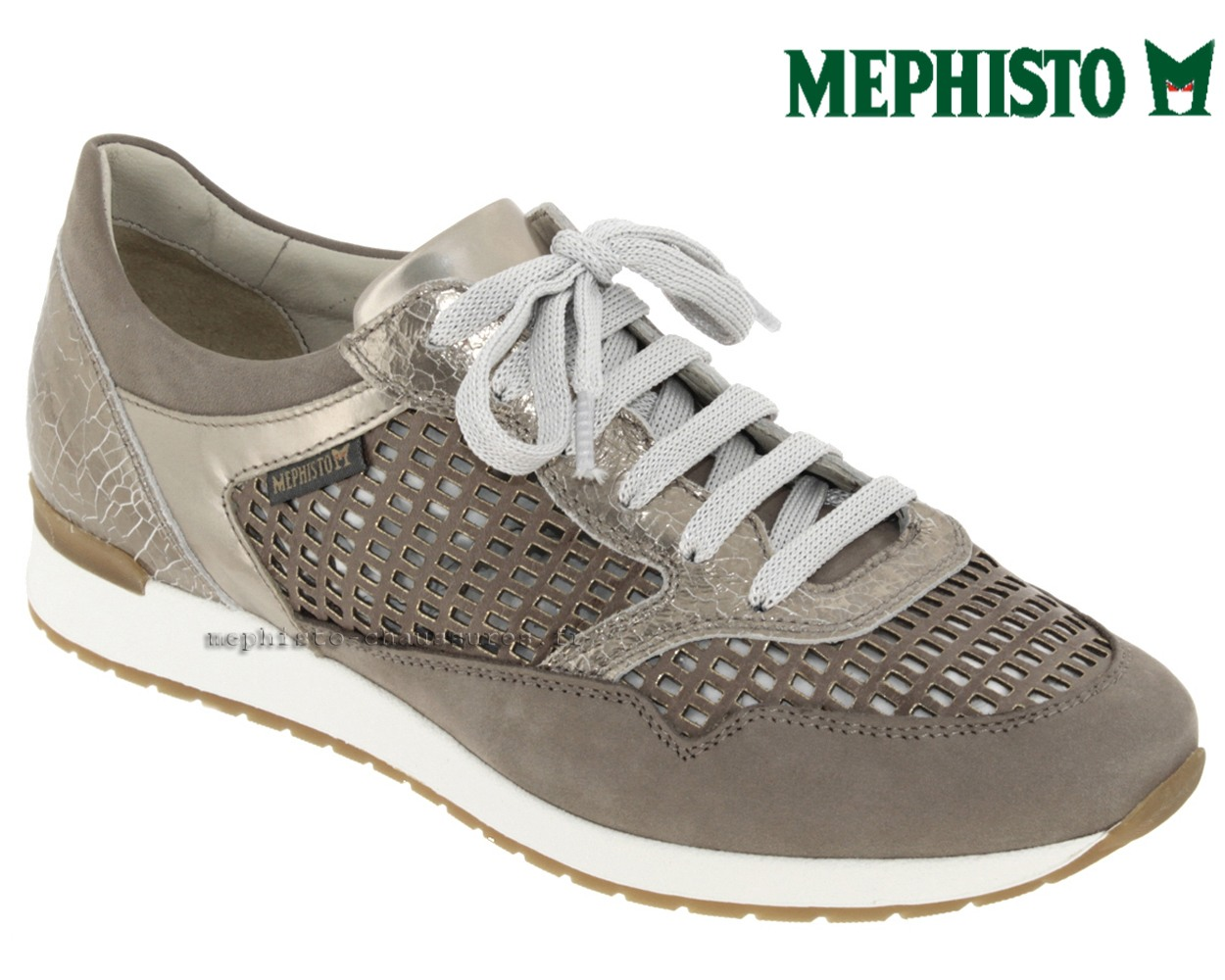 Chaussures Mephisto bleues femme