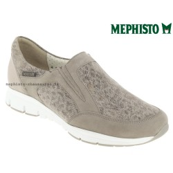 Mephisto femme Chez www.mephisto-chaussures.fr Mephisto Yelda Taupe nubuck mocassin