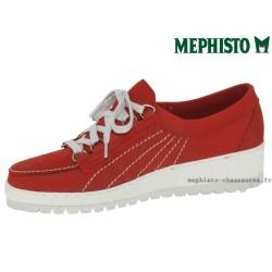 le pecq, Lady, Rouge nubuck chez www.mephisto-chaussures.fr (41343)