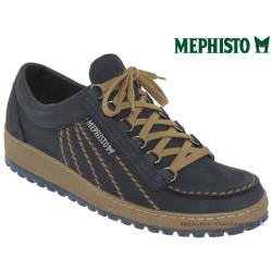 mephisto-chaussures.fr livre à Paris Lyon Marseille Mephisto RAINBOW Marine nubuck lacets