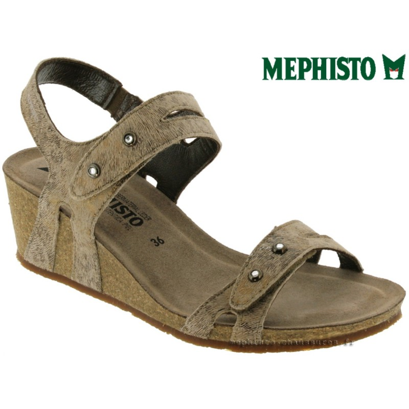 Mephisto MINOA Camel nubuck sandale