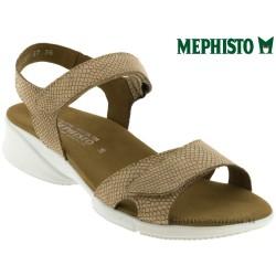 mephisto-chaussures.fr livre à Paris Mephisto Francesca Camel nubuck sandale