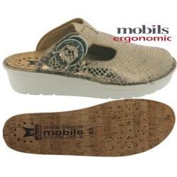 Mobils Ocilia Or cuir sabot
