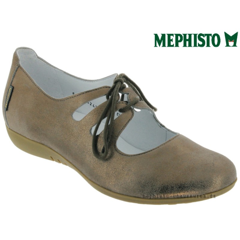 Mephisto Darya Taupe nubuck lacets