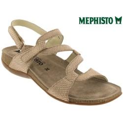 mephisto-chaussures.fr livre à Oissel Mephisto ADELIE Camel nubuck sandale