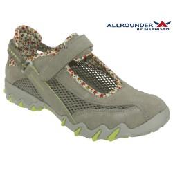 mephisto-chaussures.fr livre à Ploufragan Allrounder NIRO FILET Gris daim basket-mode