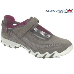 mephisto-chaussures.fr livre à Cahors Allrounder NIRO FILET Taupe nubuck basket-mode