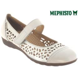 Mephisto femme Chez www.mephisto-chaussures.fr Mephisto ELLA Ecru cuir ballerine