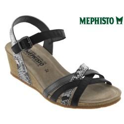 Sandale Méphisto Mephisto Mado Noir cuir sandale
