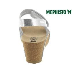 Mephisto Loreta Argent cuir sandale