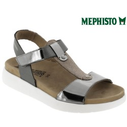 mephisto-chaussures.fr livre à Andernos-les-Bains Mephisto Oceania Gris cuir sandale
