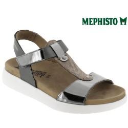 Sandale femme Méphisto Chez www.mephisto-chaussures.fr Mephisto Oceania Gris cuir sandale
