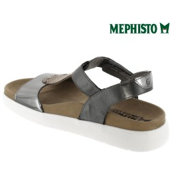 Mephisto Oceania Gris cuir sandale