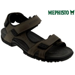 mephisto-chaussures.fr livre à Andernos-les-Bains Mephisto BRICE Taupe cuir sandale