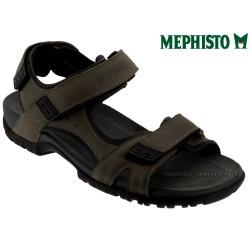 mephisto-chaussures.fr livre à Paris Lyon Marseille Mephisto BRICE Taupe cuir sandale