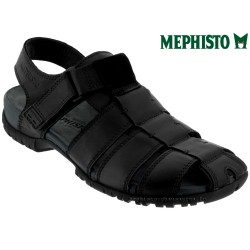 Mephisto nu pied Homme Chez www.mephisto-chaussures.fr Mephisto BASILE Noir cuir sandale
