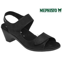 mephisto-chaussures.fr livre à Andernos-les-Bains Mephisto Cecila Noir nubuck sandale